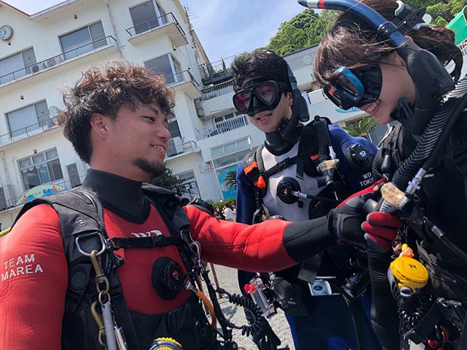 QUESTION #06 ダイビングインストラクターの仕事を<br /> していなかったら<br /> 何をしていると思いますか?